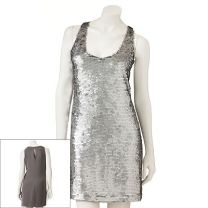 LC Lauren Conrad Paillette Shift Dress $50 USD