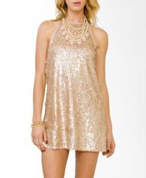 Shimmering Paillette Cocktail Dress $29.80 USD