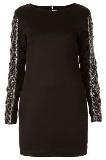 Embellishes Arm Bodycon Dress $120 USD
